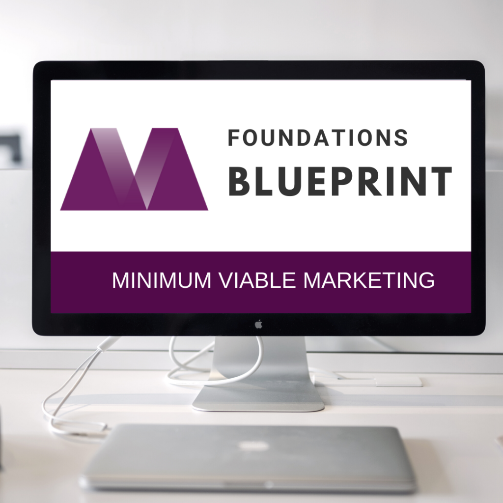 Minimum Viable Marketing Foundations Cover