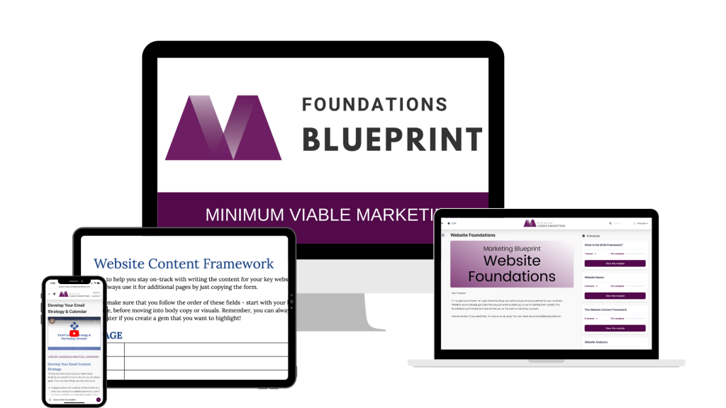 Marketing Foundations Blueprint