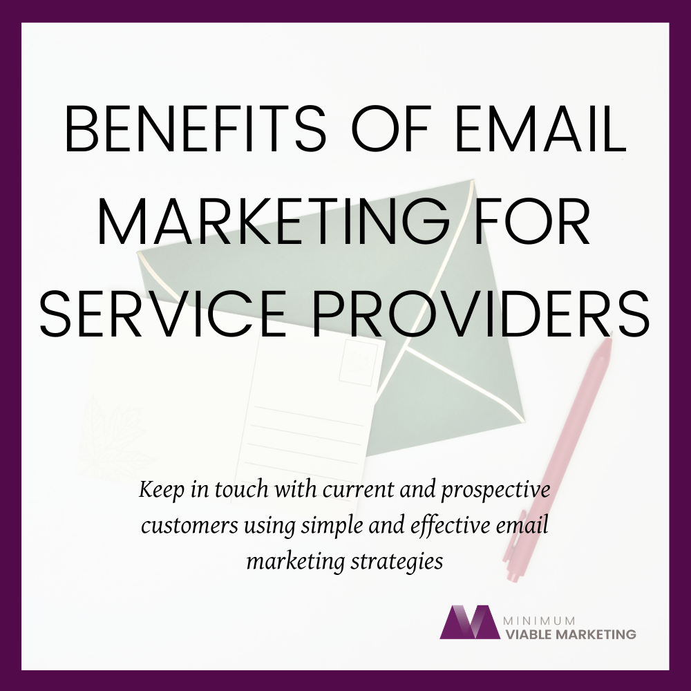 Benefits of Email Marketing for Service Providers